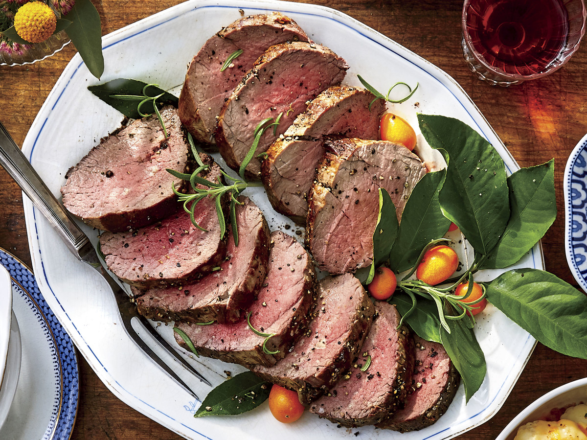 Roasted Beef Tenderloin