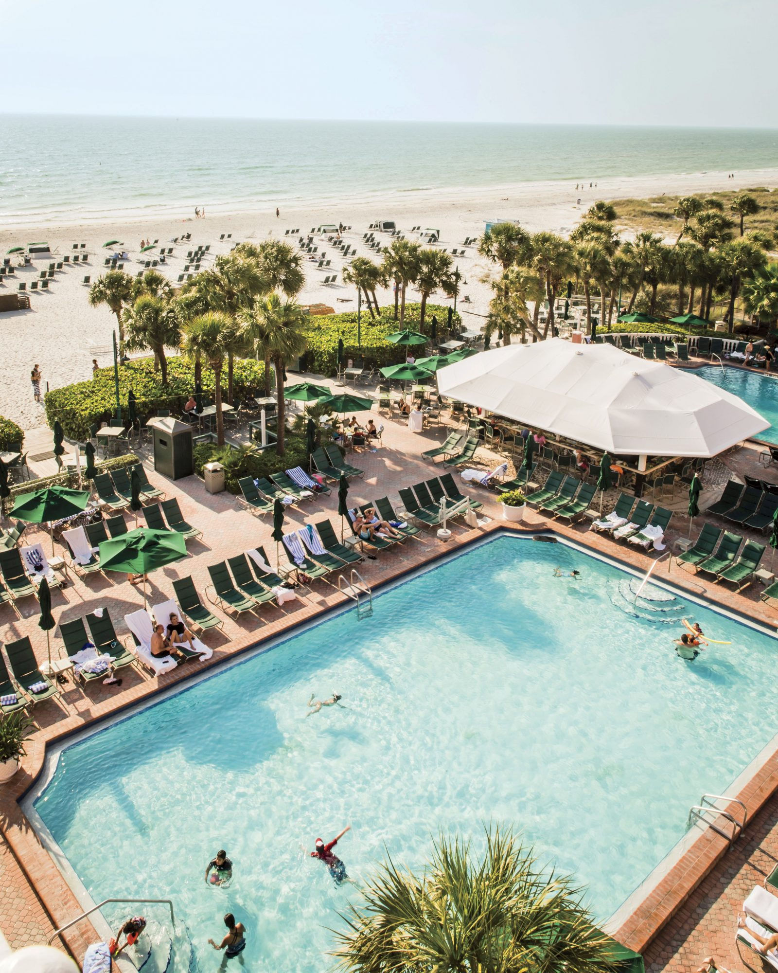 The Don Cesar Hotel Pool in St. Petersburg, FL