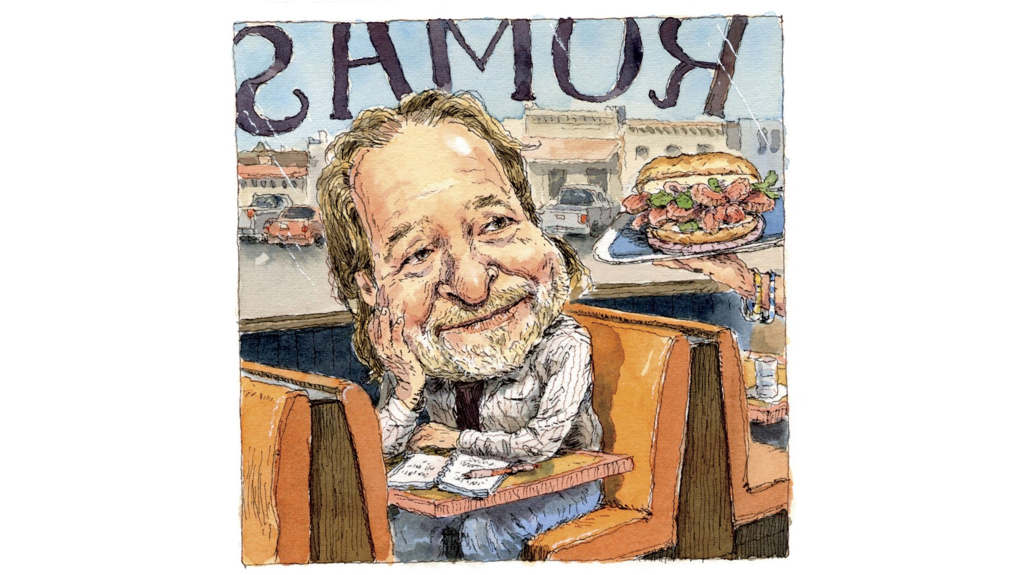 Rick Bragg at Roma's Illustration