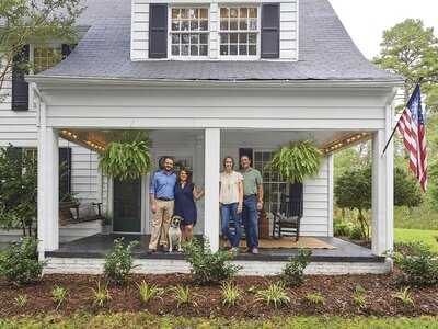 Meet The Fixer-Uppers Restoring This 1928 Farmhouse in