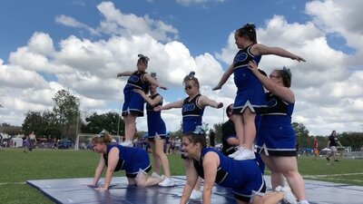 Watch this Florida Special Needs Cheerleading Team's