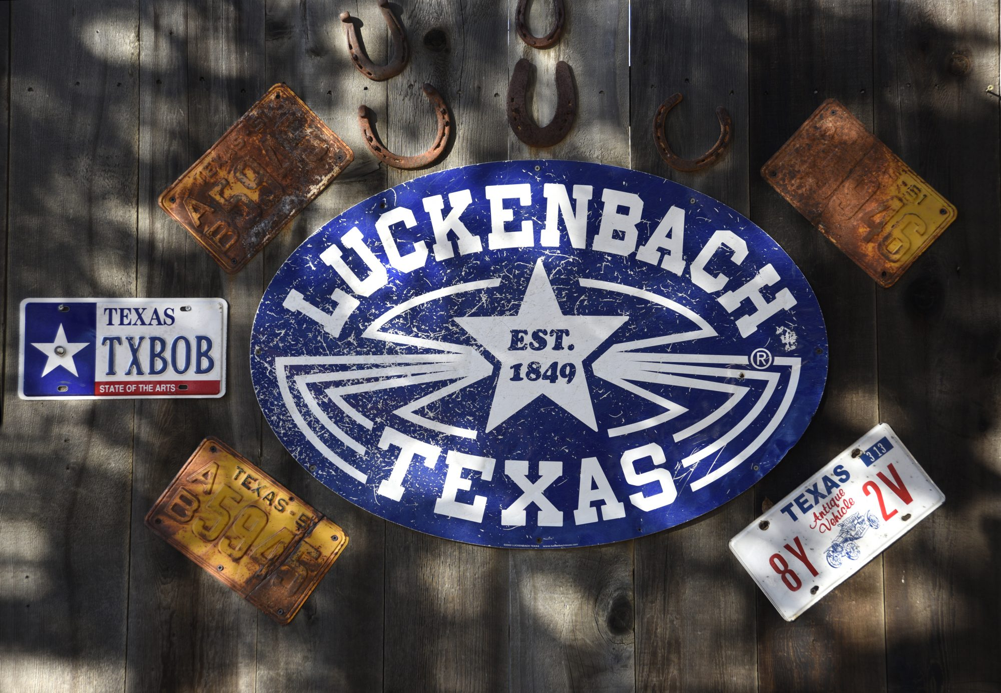 Luckenbach, Texas Sign
