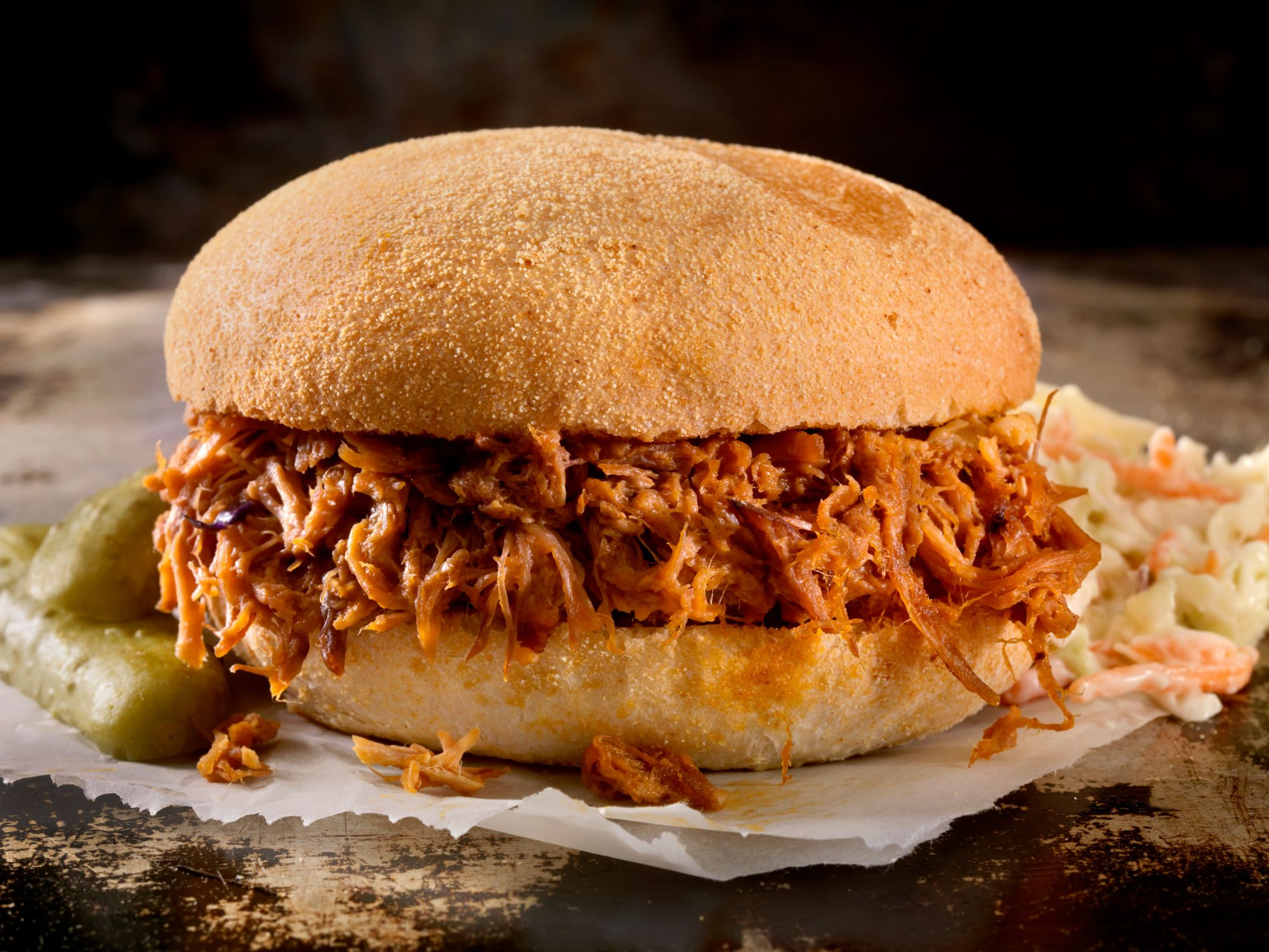 Barbecue Sandwich with Slaw