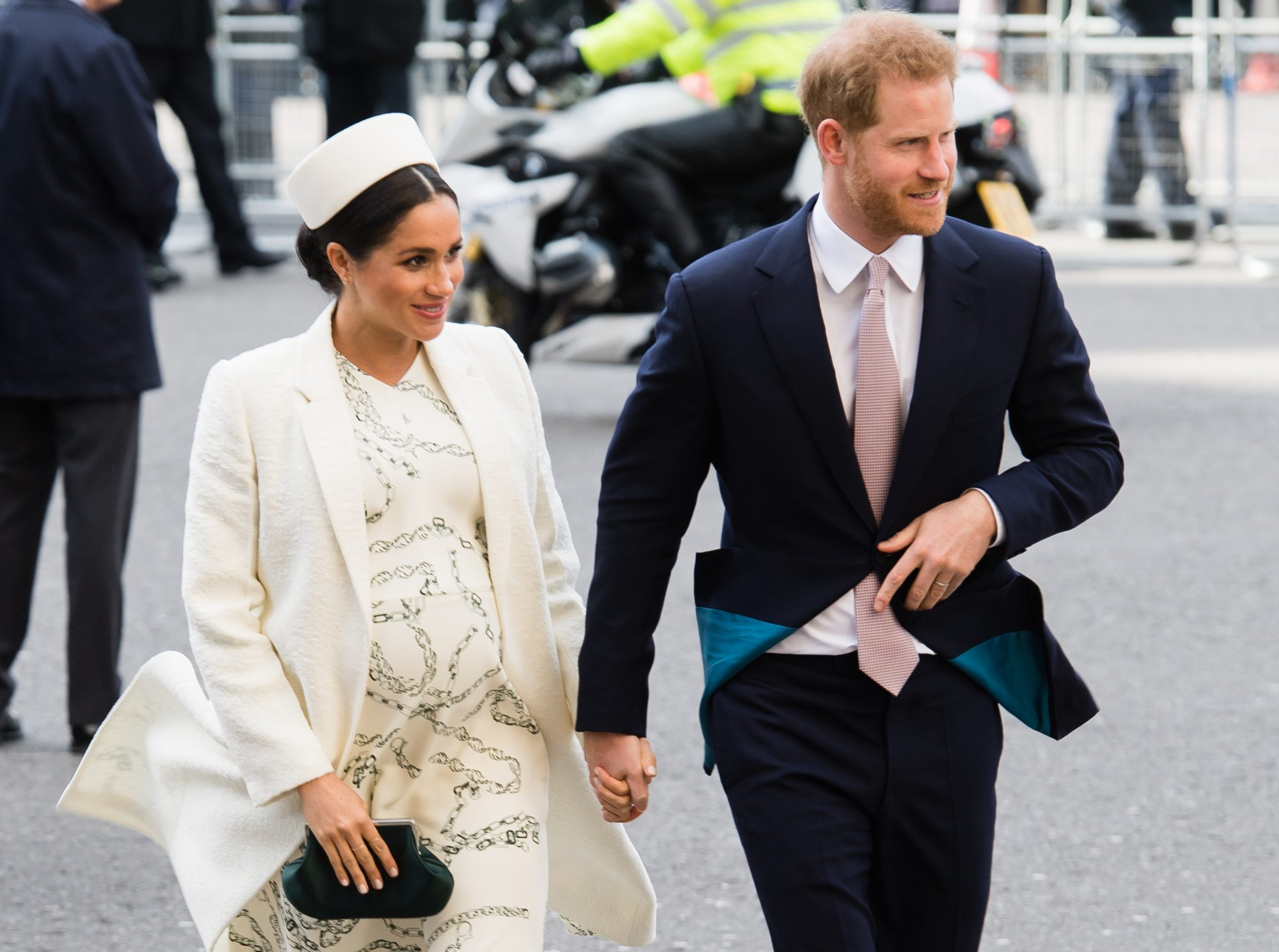 Meghan Markle Labor Prince Harry