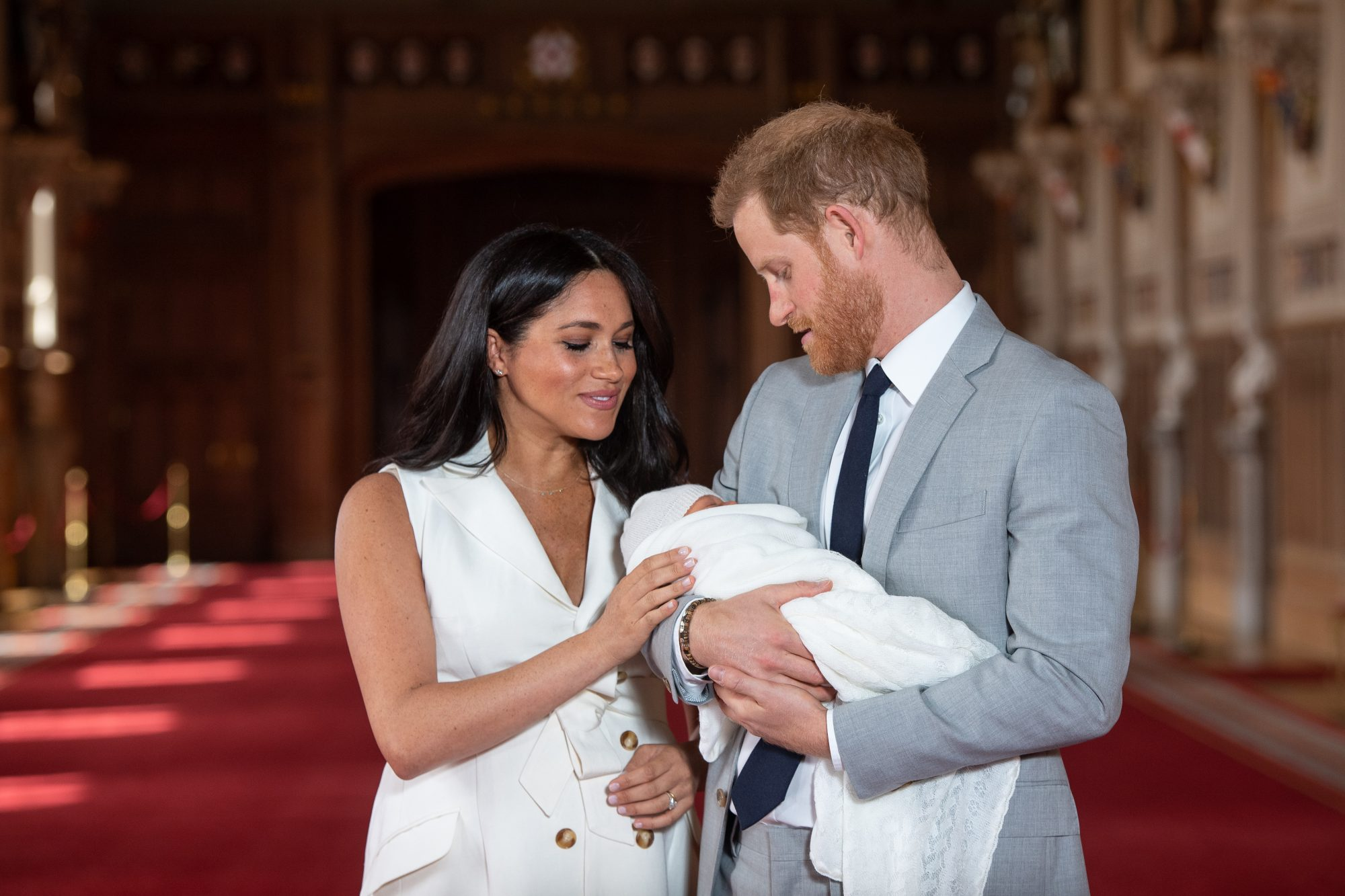 Duke and Duchess of Sussex with Baby Archie Harrison
