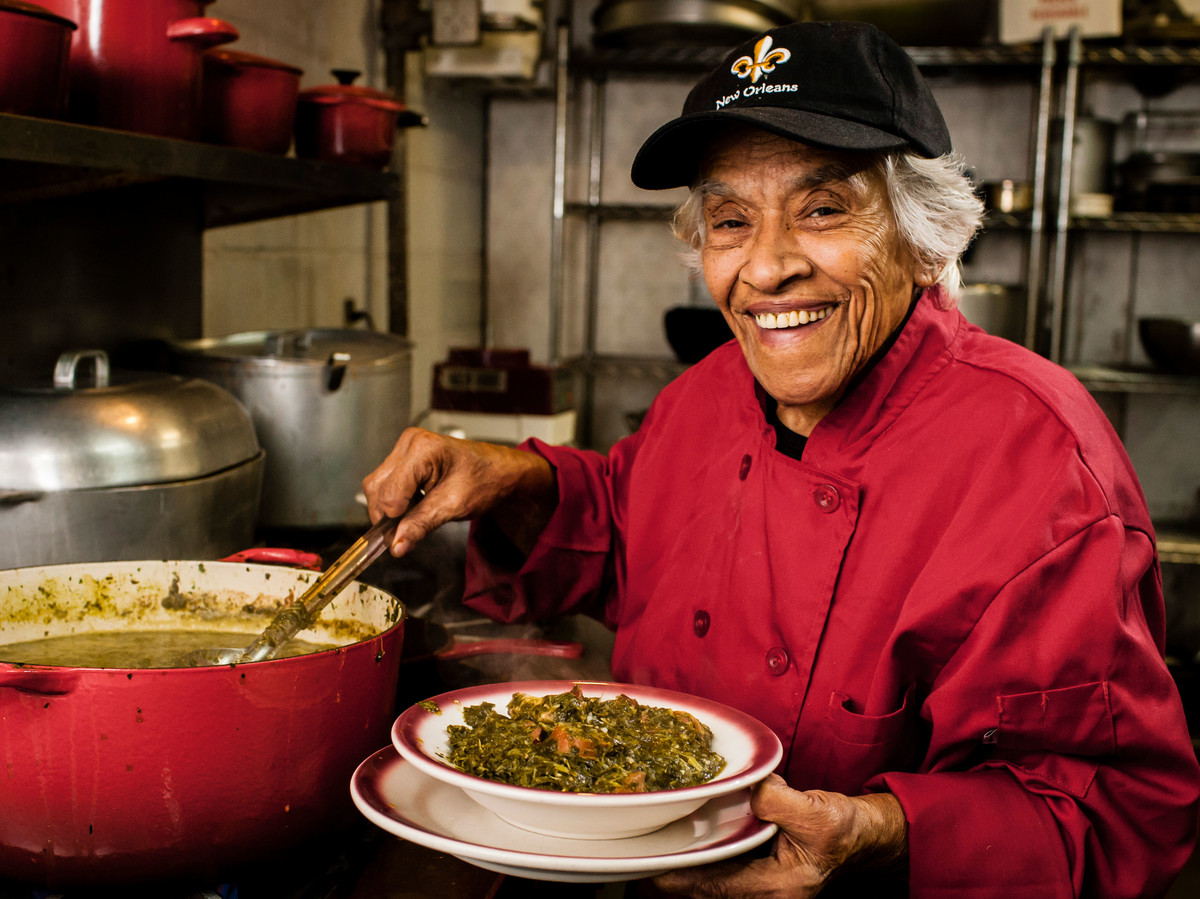 Leah Chase Gumbo Z'Herbes