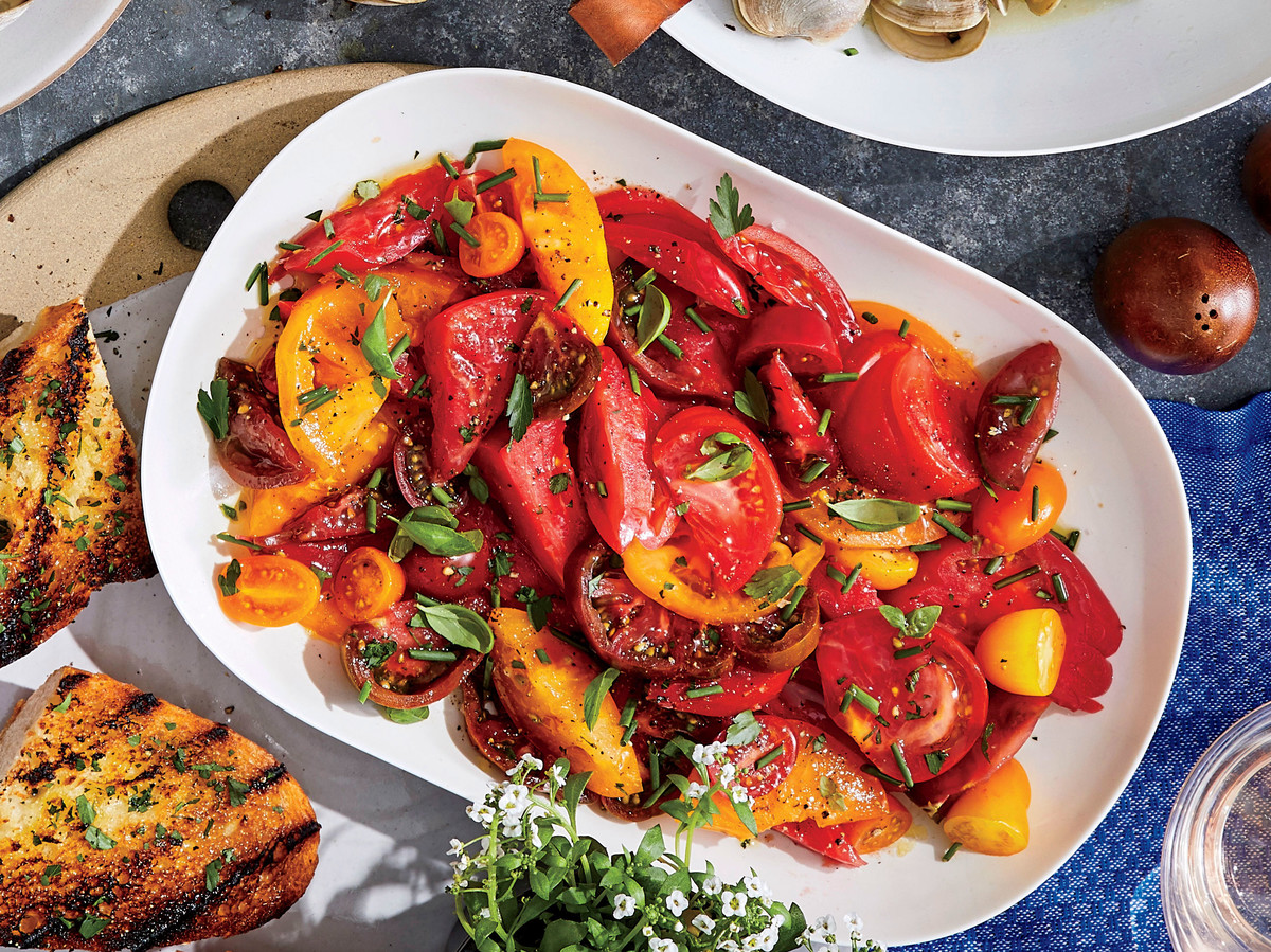 Heirloom Tomato Salad with Herbs