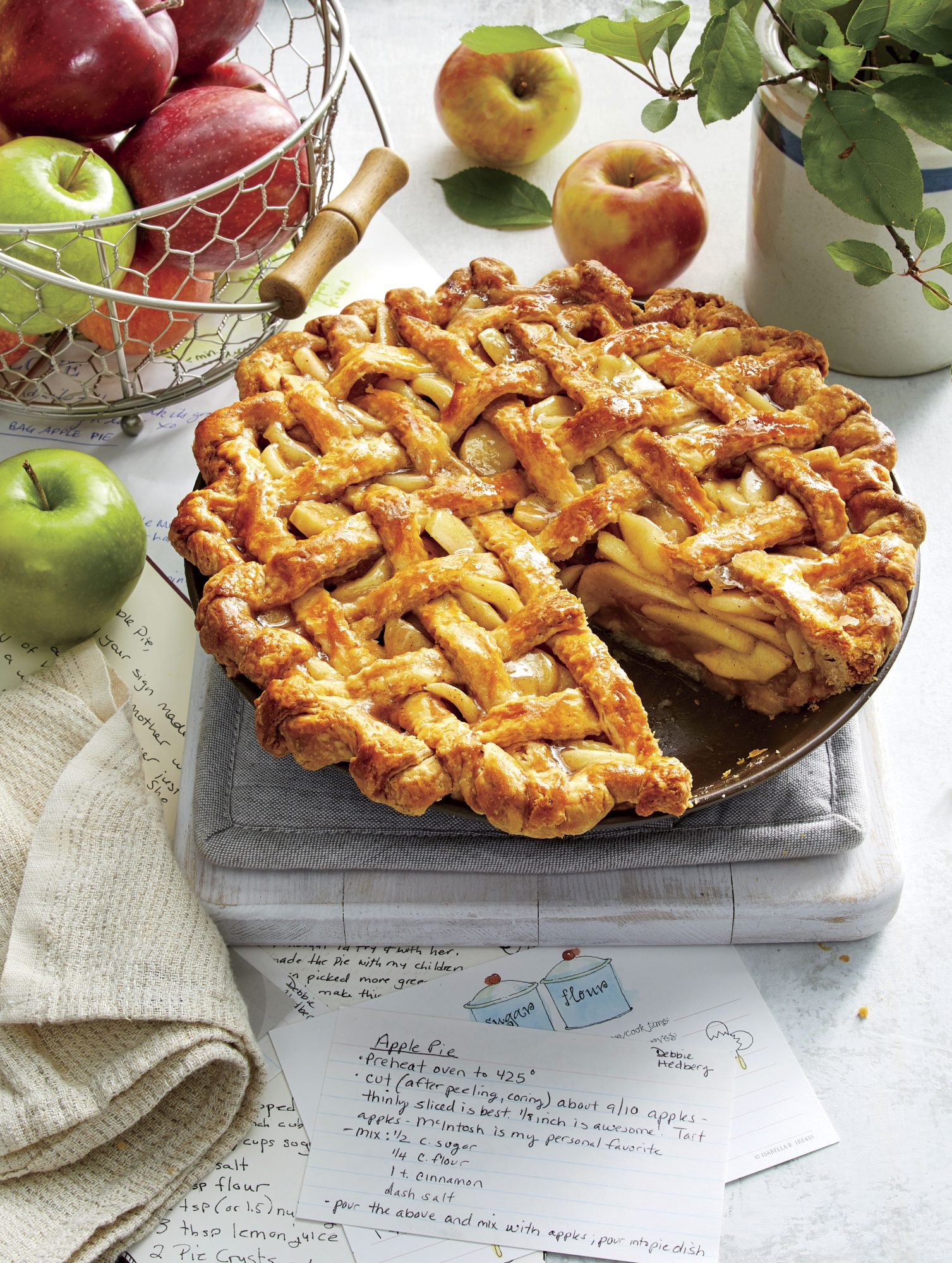 Old-Fashioned Apple Pie