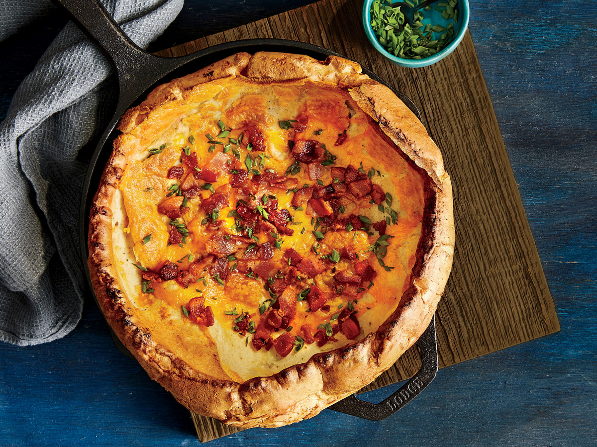 Savory Bacon Dutch Baby