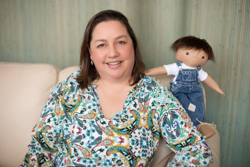 Mom Makes One-of-a-Kind Dolls