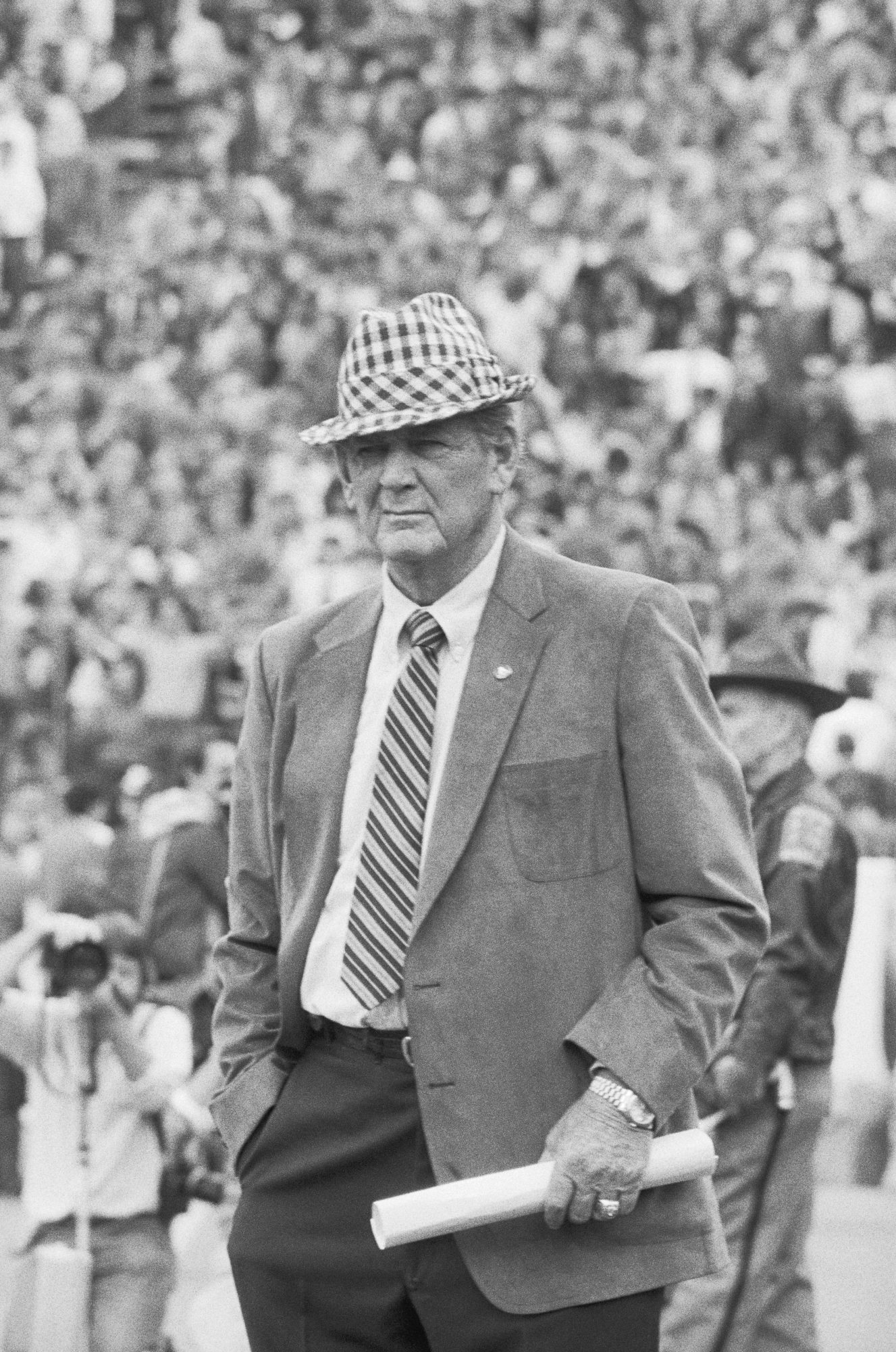 Paul  Bear  Bryant in 1982
