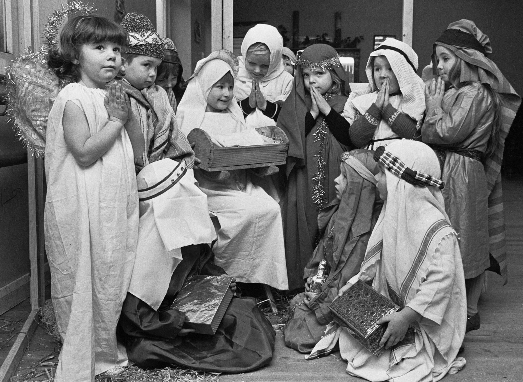 christmas nativity pageant