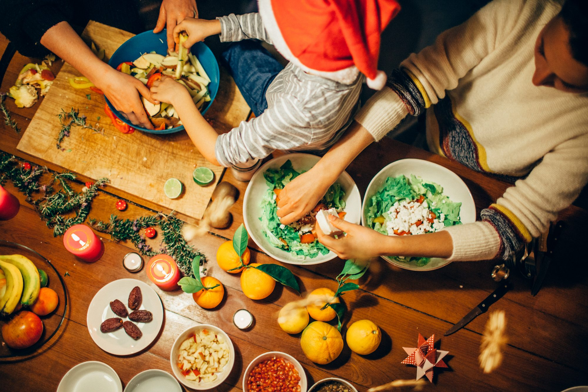 How To Get The Whole Family Cooking Together This Holiday Season