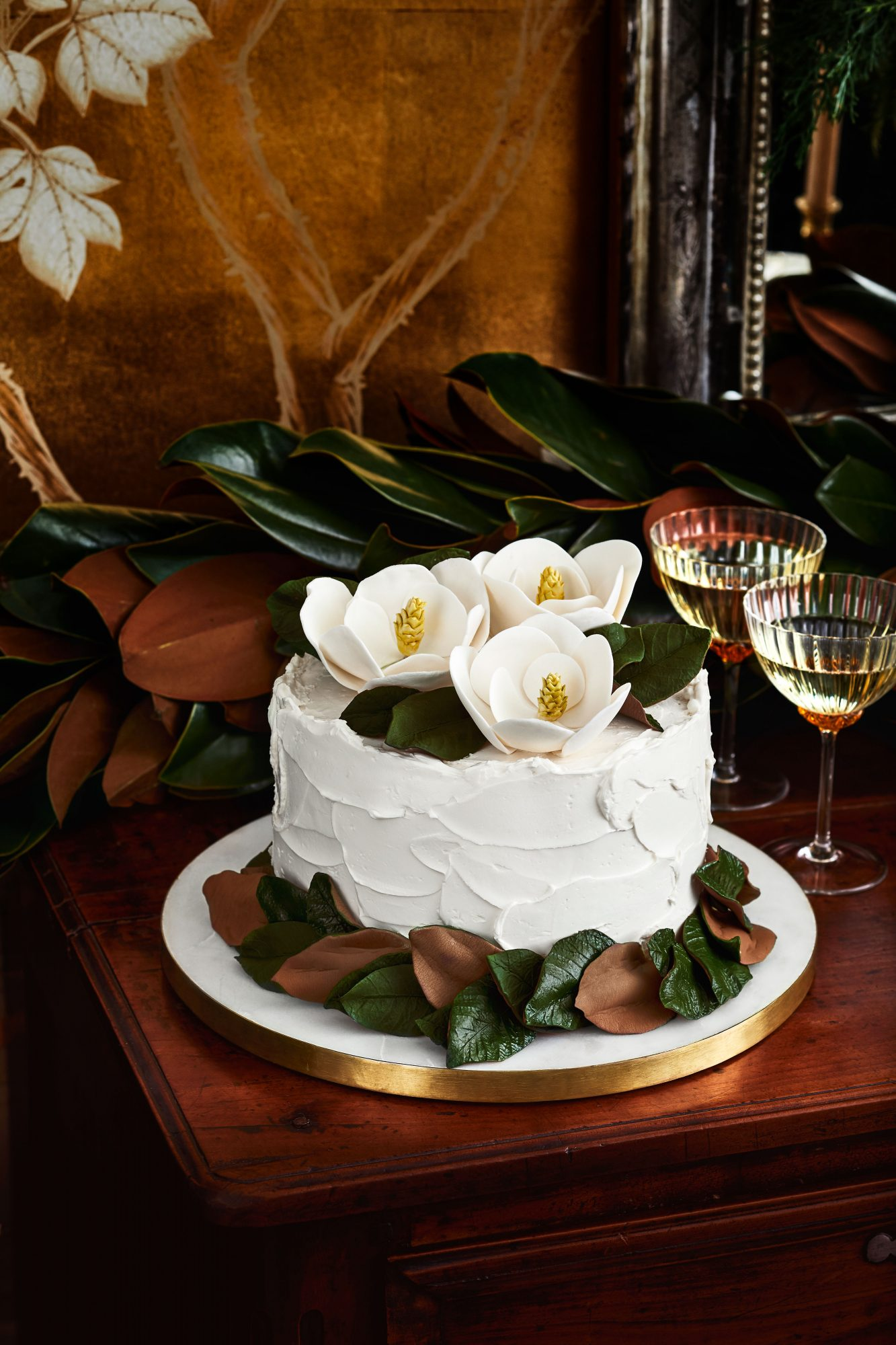 Magnolia Cake Toppers