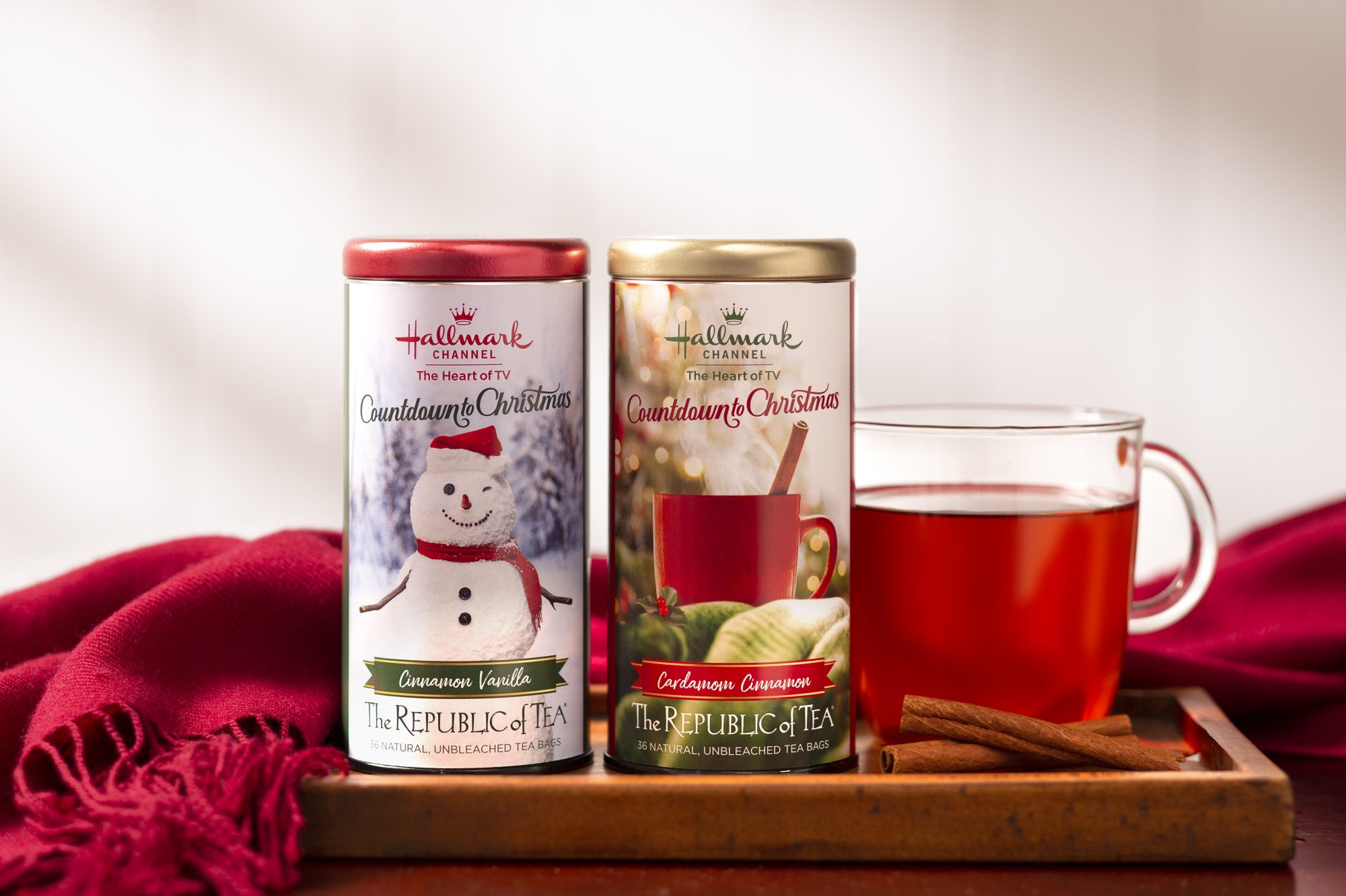 Hallmark Countdown to Christmas Teas