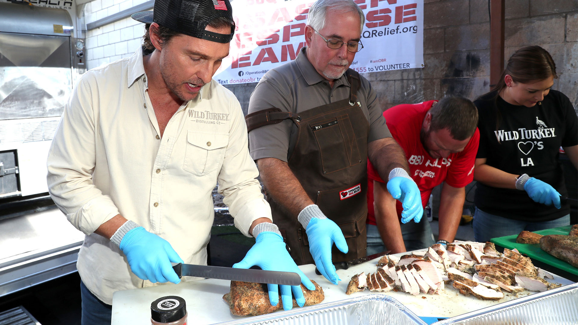 Matthew McConaughey and Operation BBQ Relief