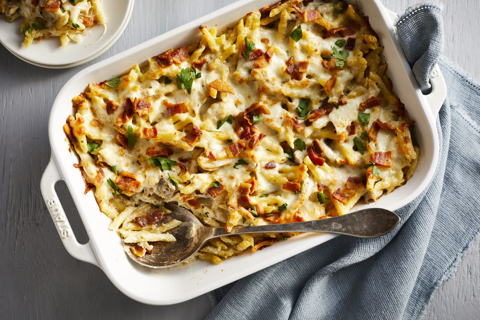 Chicken Bacon and Ranch Casserole