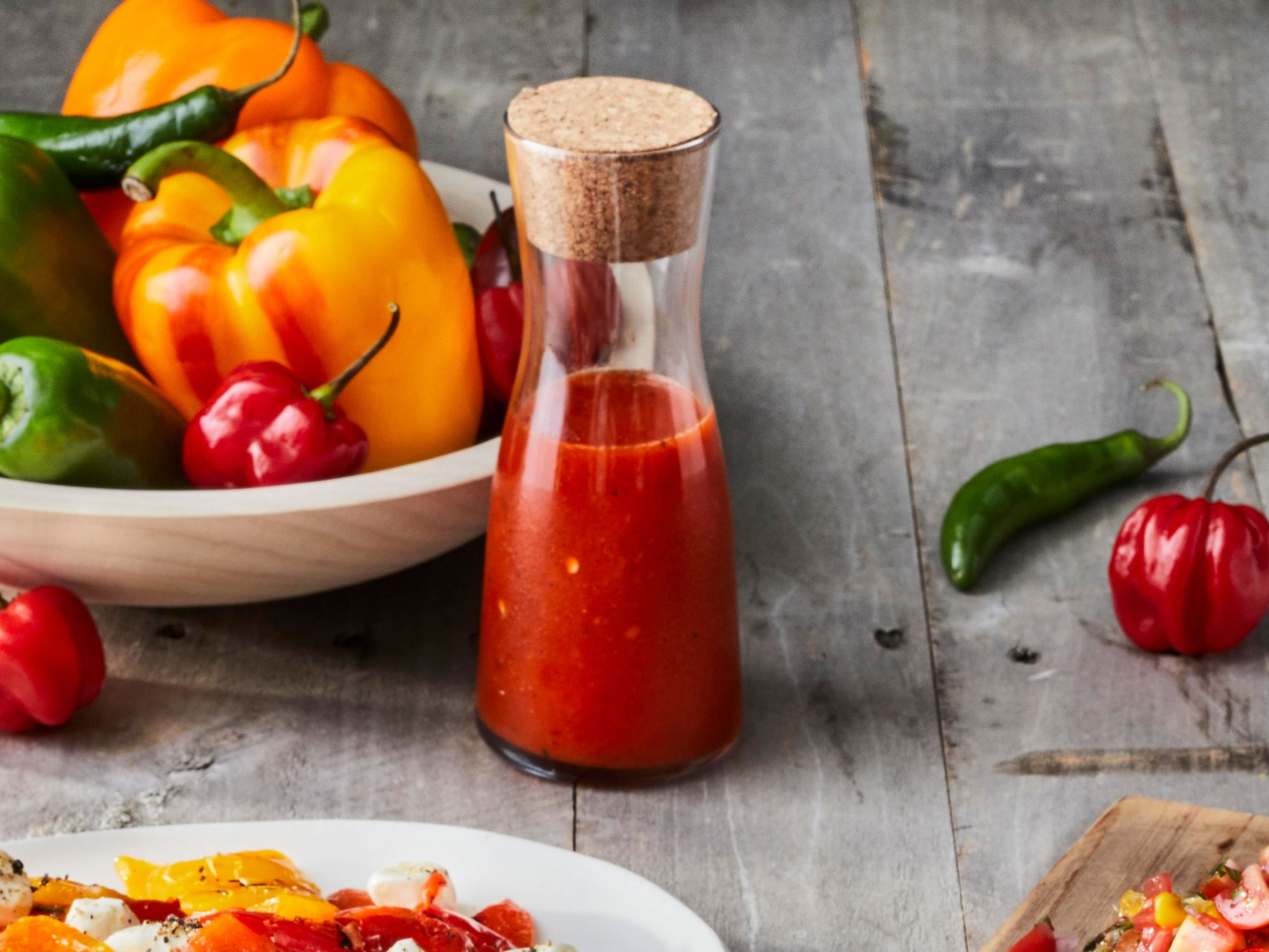 Grilled Hot-Pepper Sauce