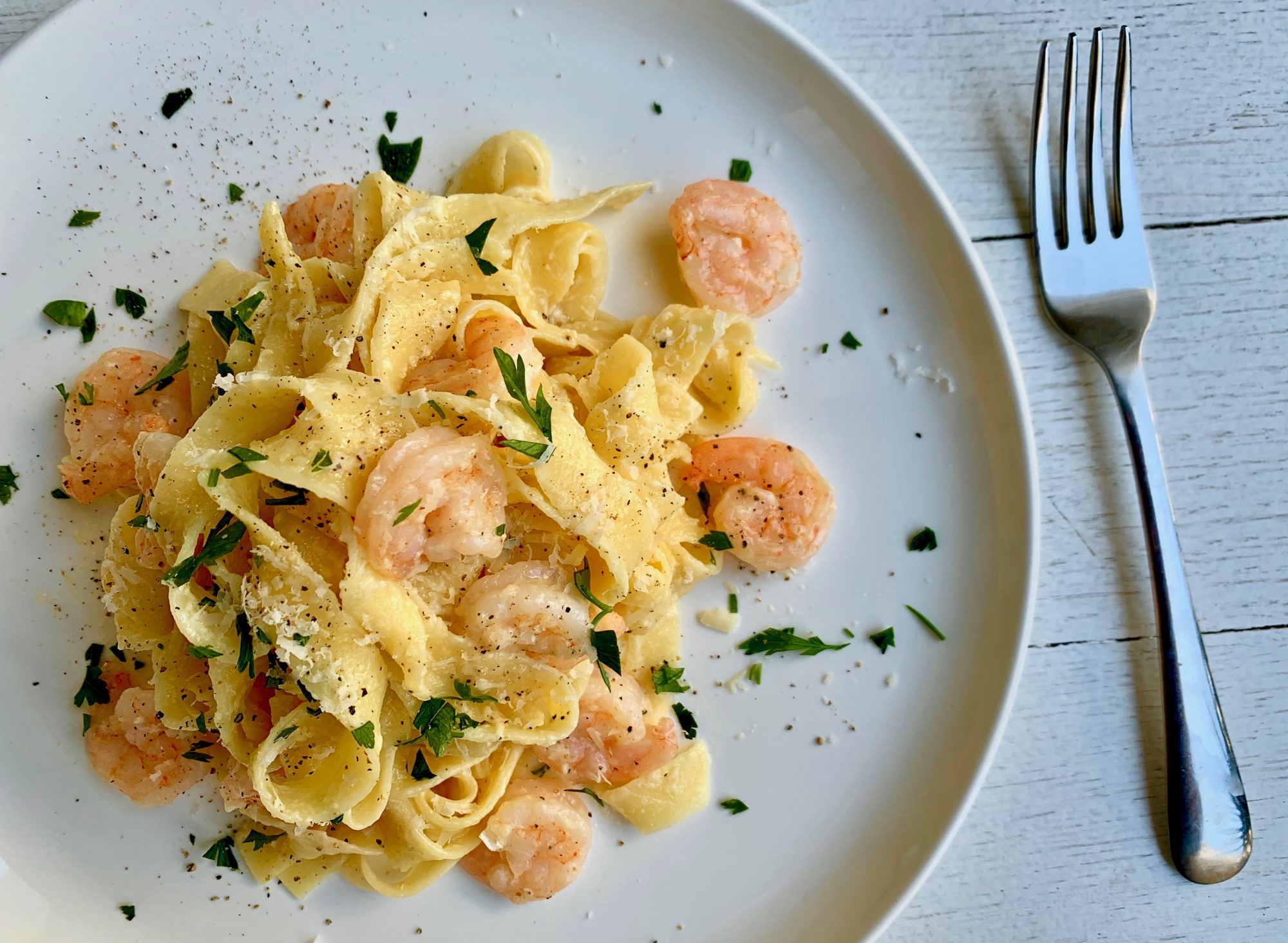 Shrimp Alfredo Recipe Image