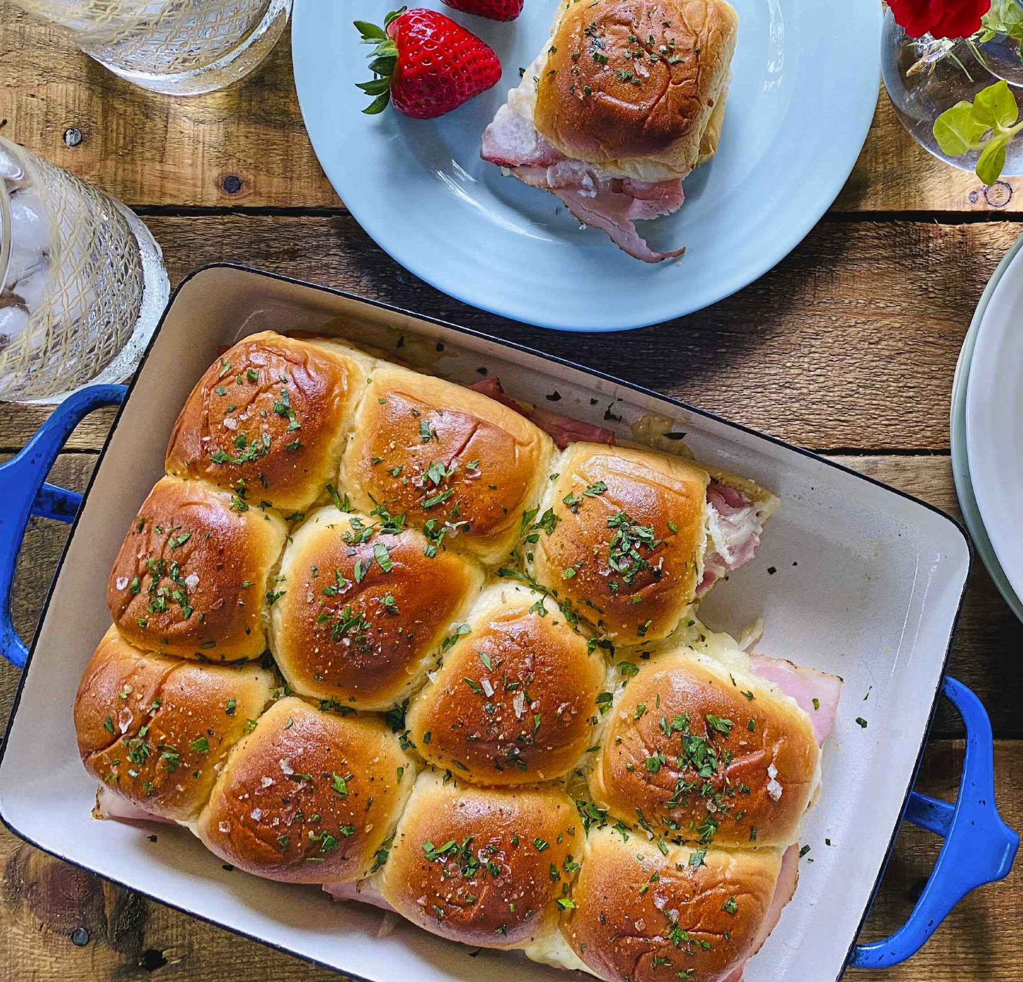 Ham-And-Cheese Sliders