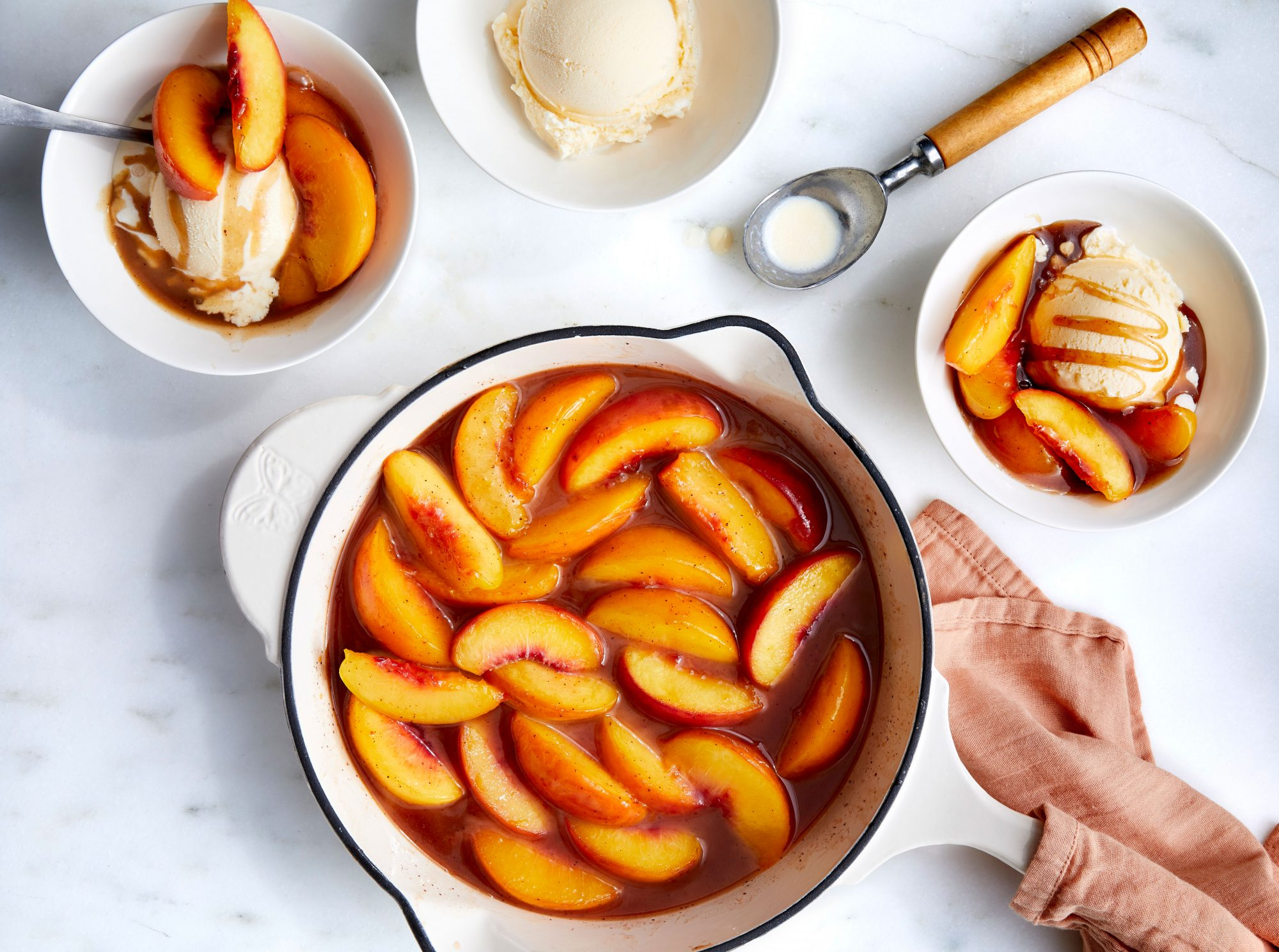 Skillet Fried Peaches