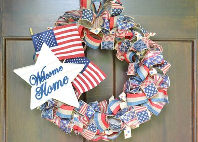 Diy Memorial Day Wreath Southern Living