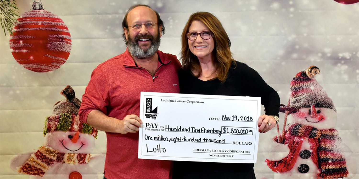 Louisiana Couple Found $1.8 Million Lottery Ticket While Prepping for Thanksgiving