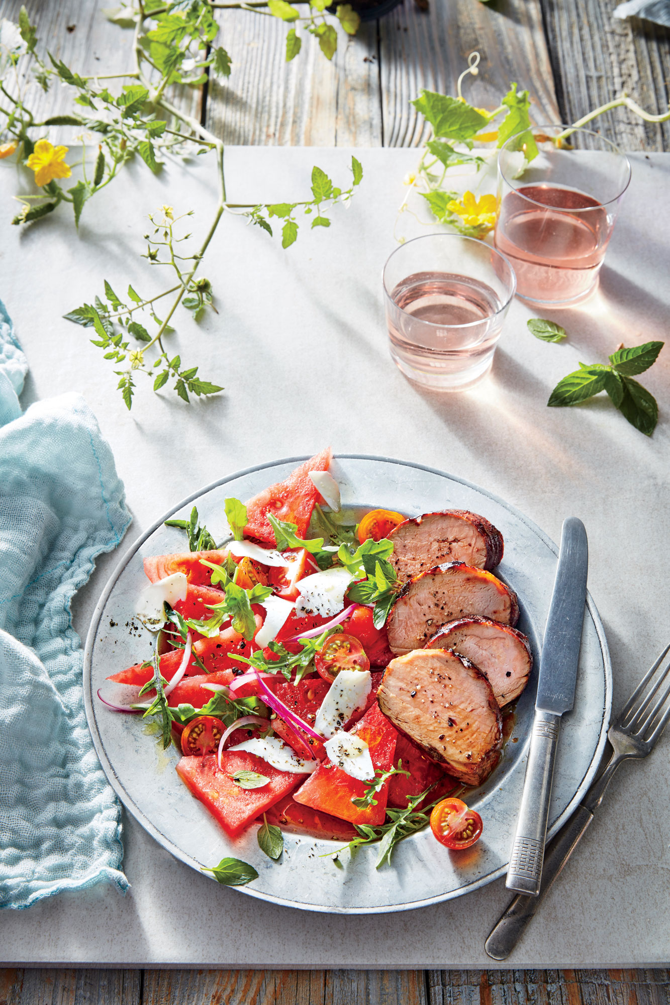 Peach-Glazed Pork Tenderloin