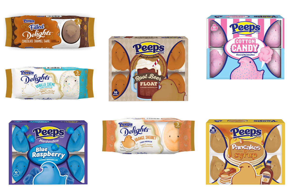 Peeps Debuts Cotton Candy Marshmallows for Easter—Plus 6 More Insane New Flavors