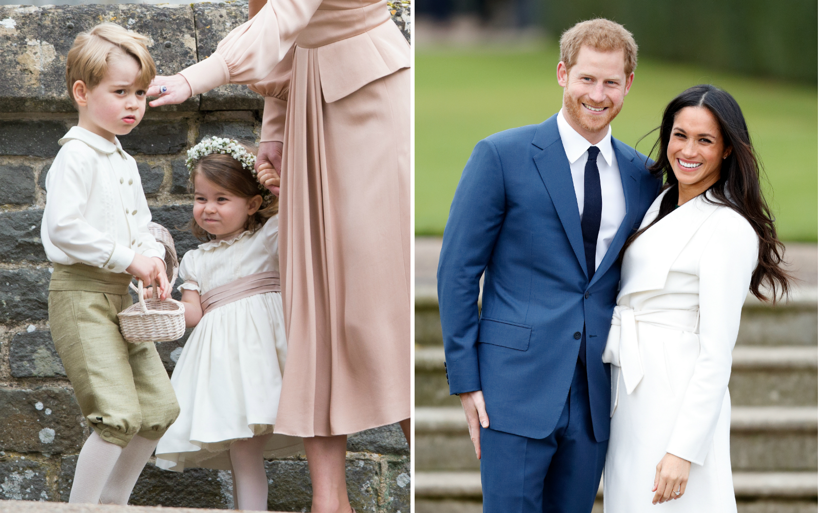 Prince George and Princess Charlotte will be in the 2018 royal wedding