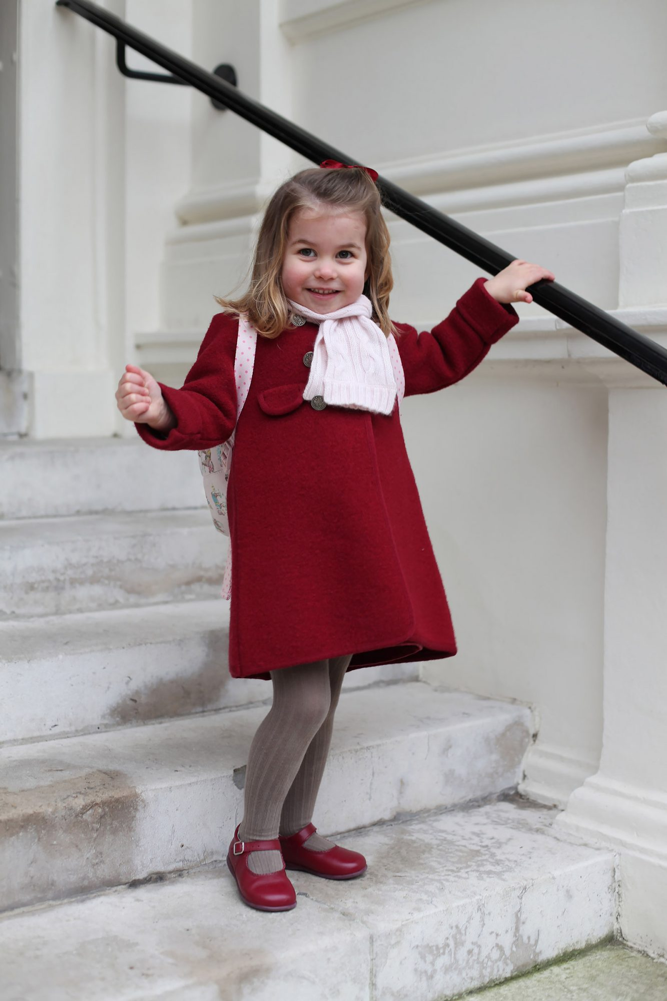 Now We Know Princess Charlotte's Favorite Pastime Thanks to Dad Prince William! princess-charlotte-3