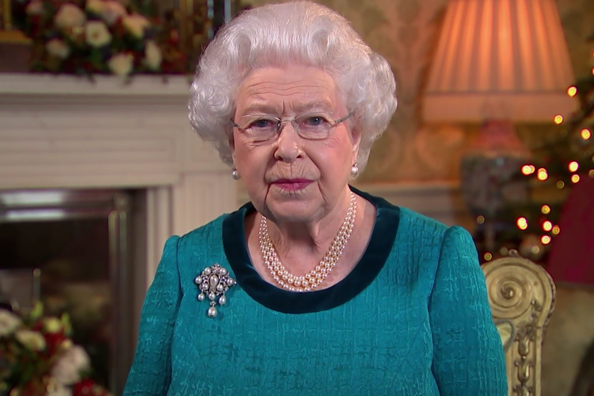 Queen Elizabeth Gives a Surprisingly Romantic Shout-Out in Her Annual Christmas Speech