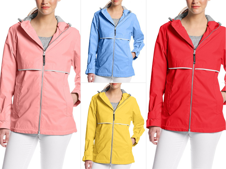 Shopping: This Rain Jacket Has Over 2,000 Five-Star Reviews (and Comes in 18 Gorgeous Colors!)