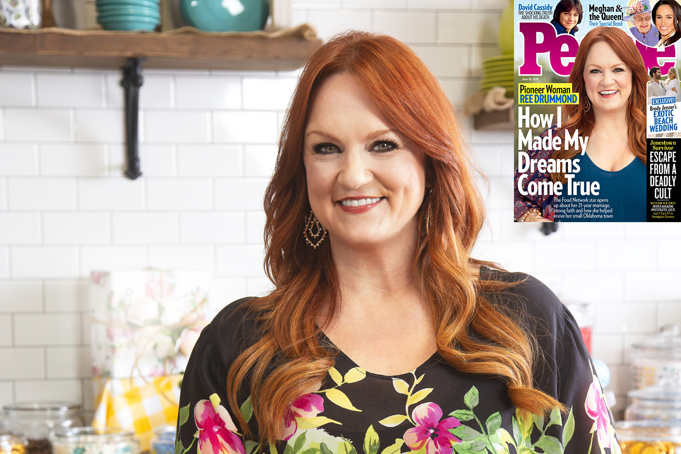 How Ree Drummond Turned a Tiny Oklahoma Town into the Center of Her Pioneer Woman Empire ree-w-cover
