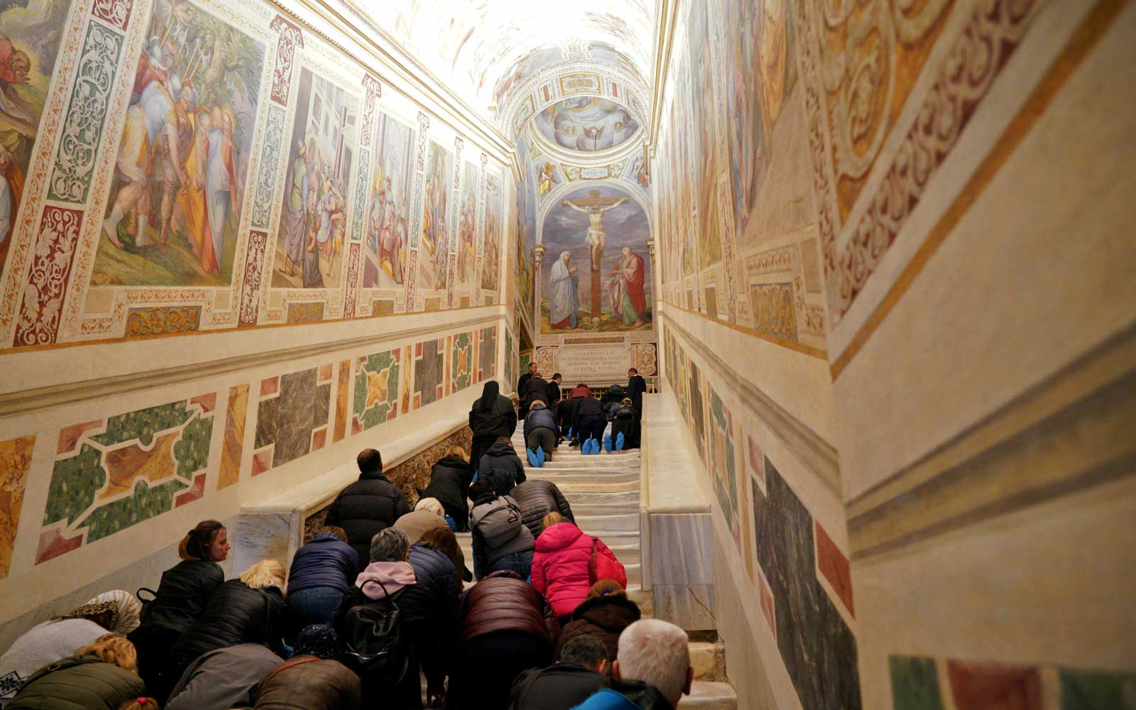 The Vatican Is Unveiling Its Holy Staircase for the First Time in 300 Years