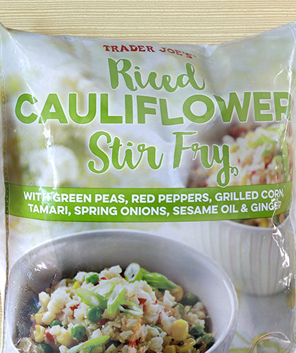 Trader Joe's New Cauliflower Rice Stir-Fry Is Your Answer to Weeknight Dinner