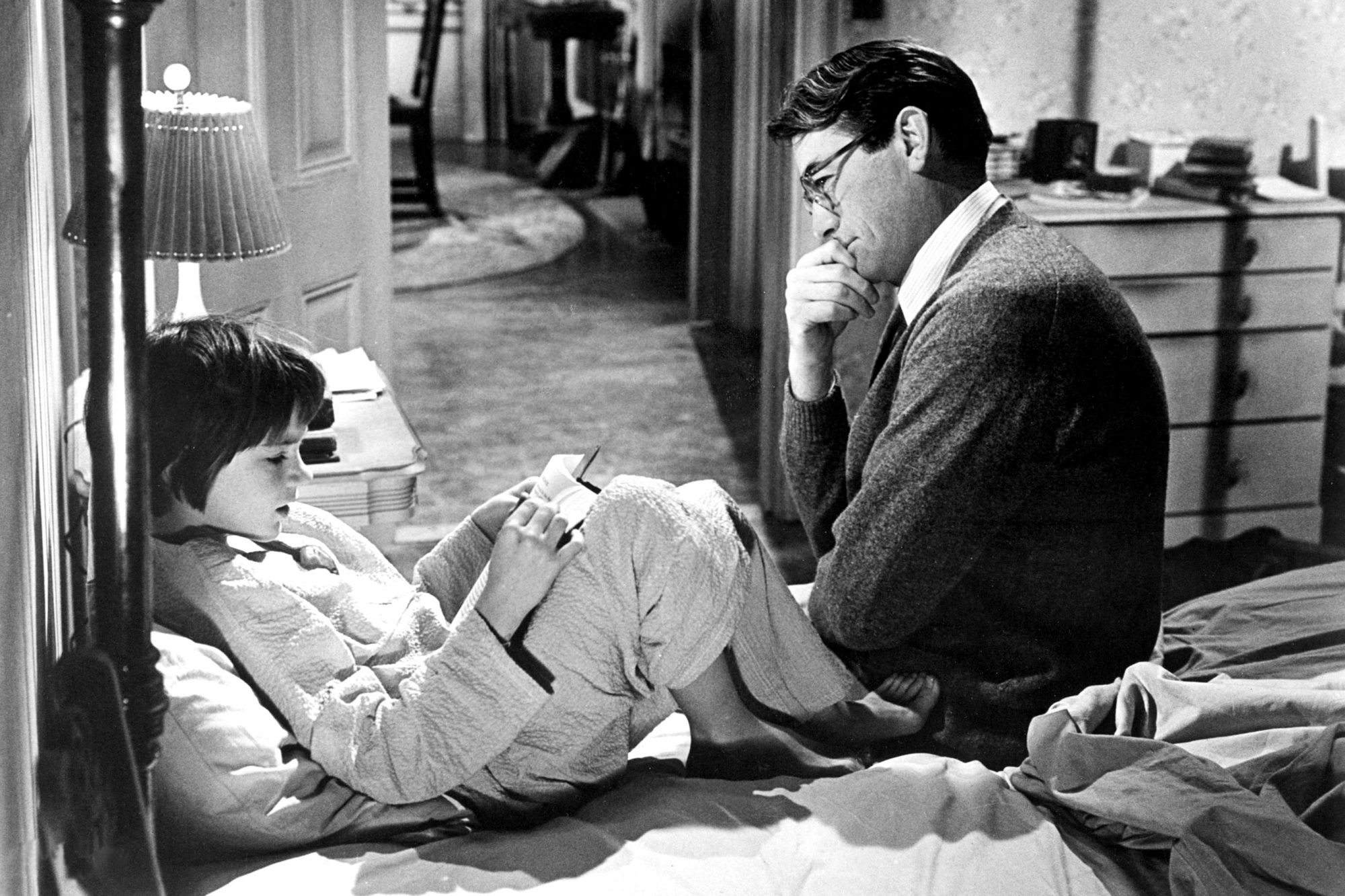 'To Kill a Mockingbird': Why Atticus Finch is film's best father figure