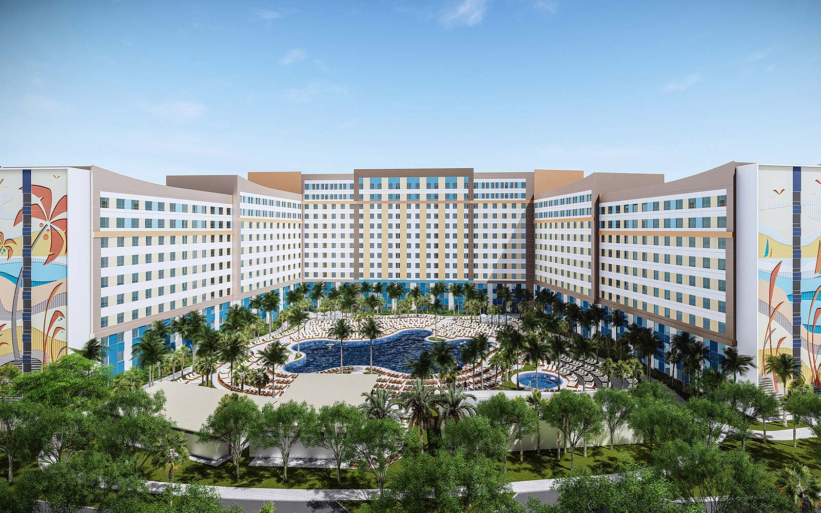Universal Orlando Resort New Hotels Florida