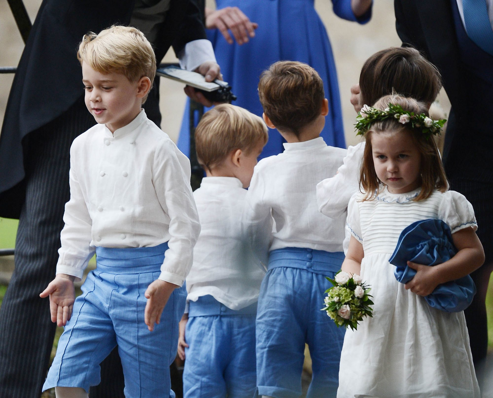 Prince George and Princess Charlotte Are Officially Set to Appear in Princess Eugenie's Wedding!