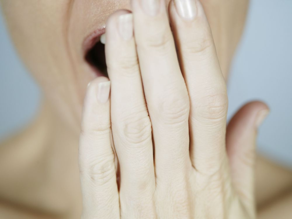 The Real Reason Why You Get Bad Breath In The Morning