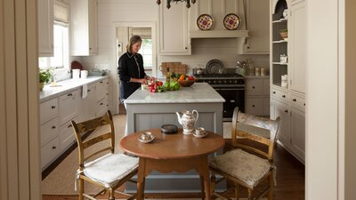 Cape Cod Style Makeover Ideas For Open Kitchens Living Rooms And Dining In A Cape Cod Style Home on