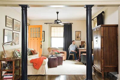 Chattanooga Bungalow With Vintage Style