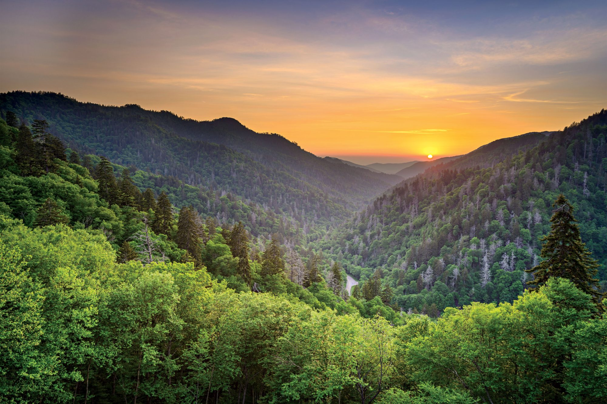 Great Smoky Mountains National Park in North Carolina & Tennessee