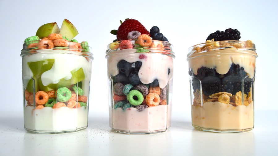 Cereal Yogurt Parfaits
