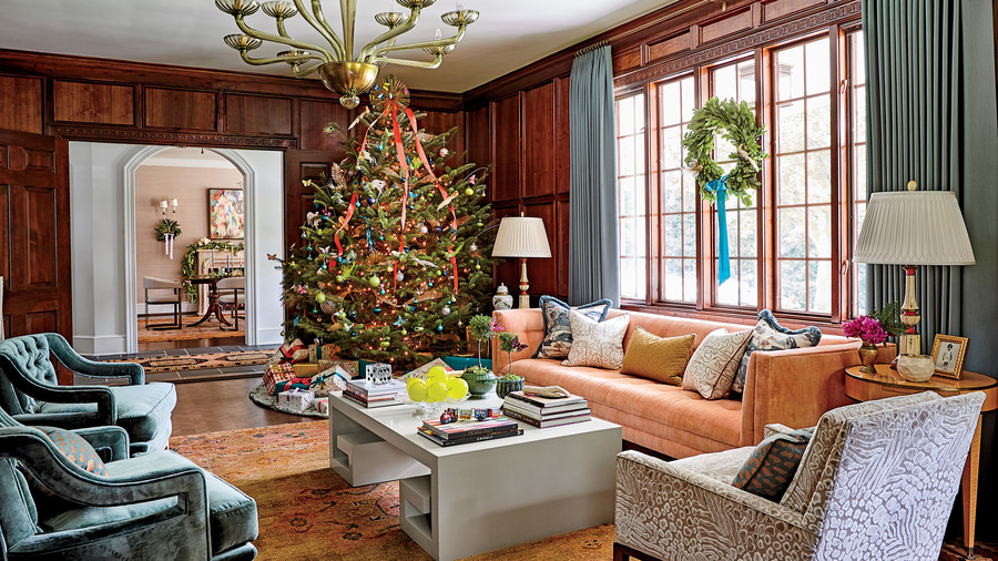 Charlotte Lucas Spartanburg, SC Home Decorated for Christmas