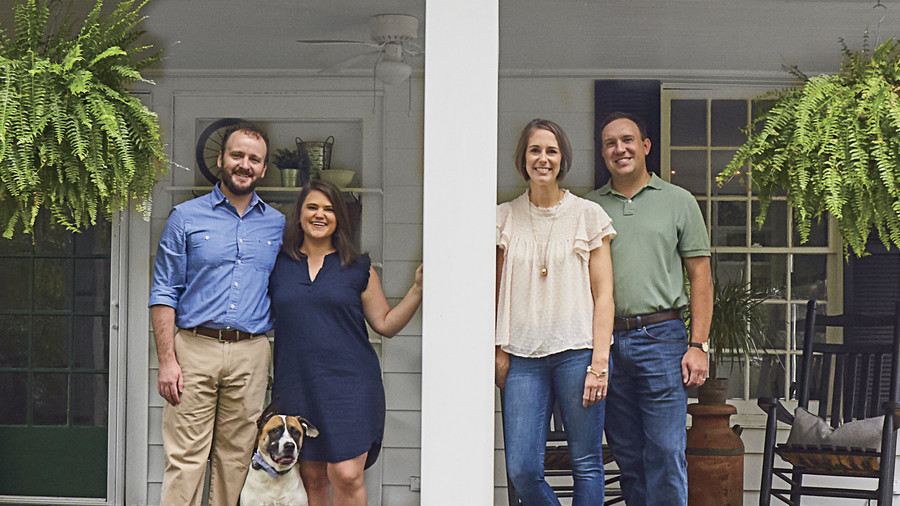 Katherine and Stuart Mull and Jonathan and Molly Gross Hickory, NC Home Renovation
