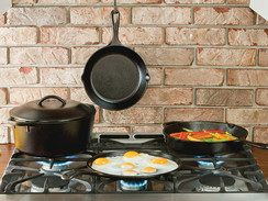 Lodge Cast-Iron Pan Set