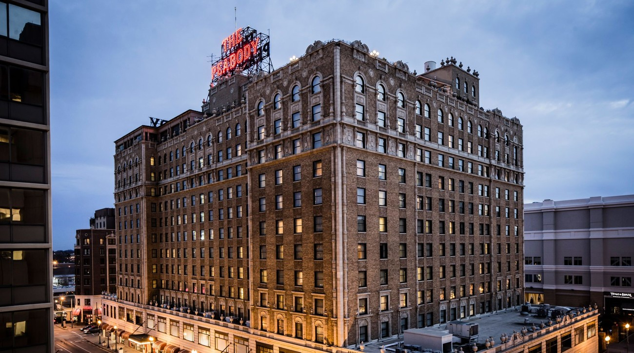 South's Best Historic Hotel Peabody