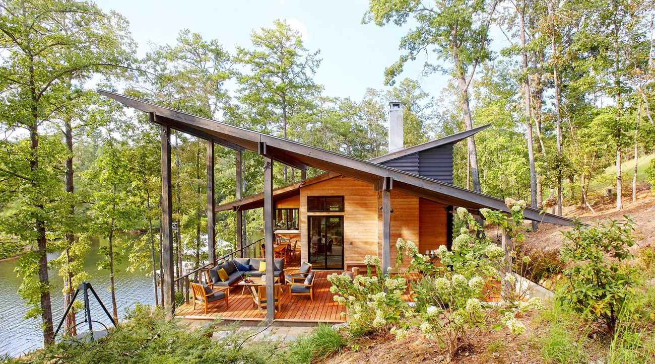 Modern Alabama Lake House