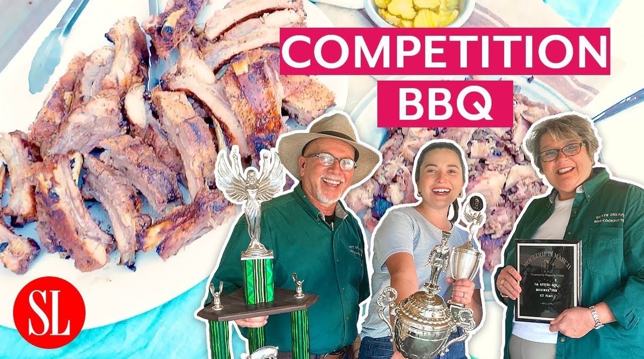 hey y'all competition barbecue